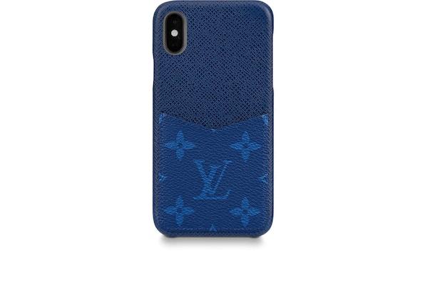 300cf0659 Louis Vuitton iPhone Case Monogram Pacific Taiga XS Blue