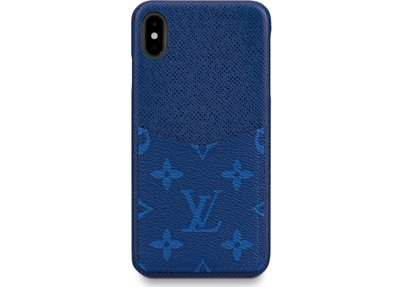 premium selection 0f63b 9c40b Louis Vuitton iPhone Case Monogram Pacific Taiga XS MAX Blue