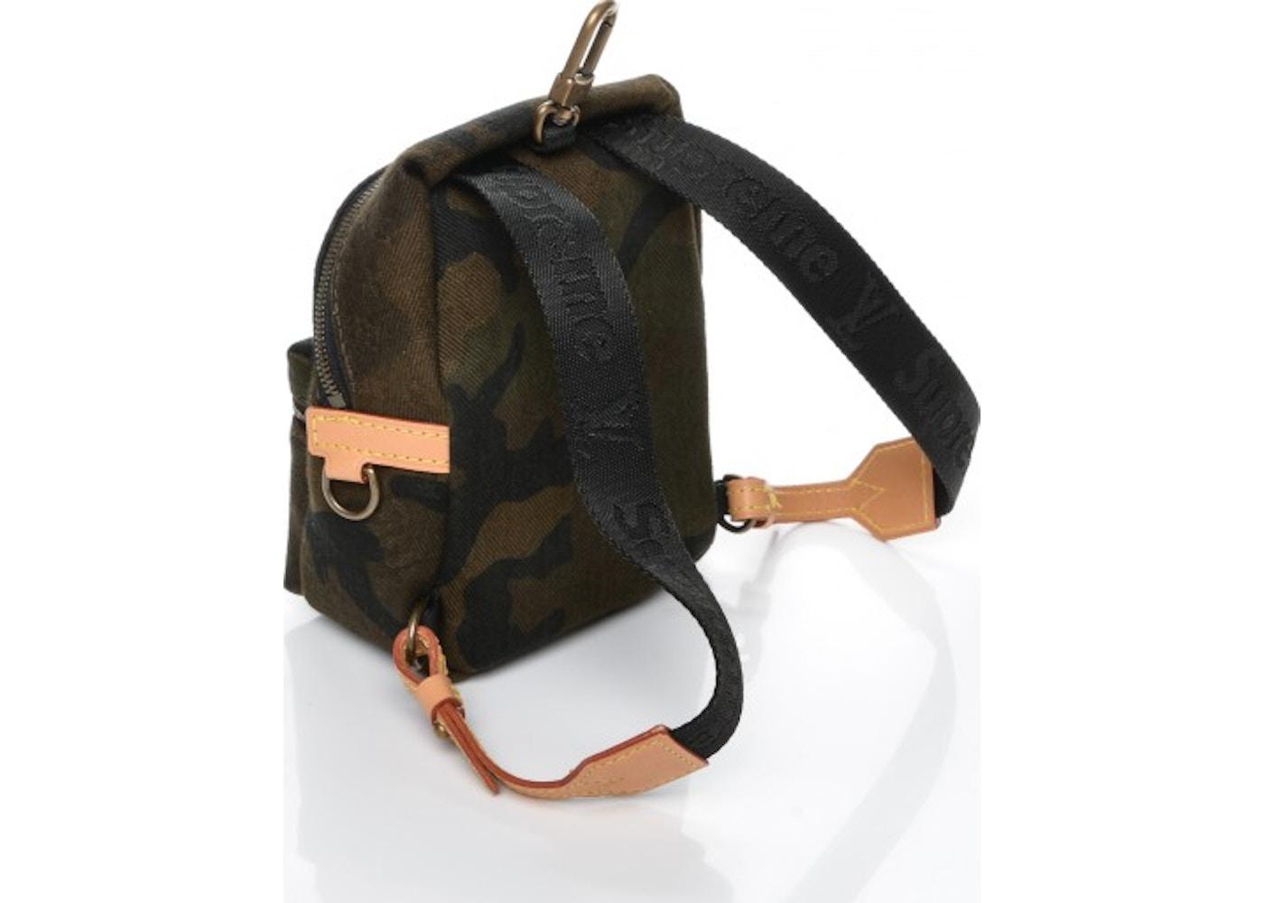 f0b8c3590dfa Louis Vuitton x Supreme Apollo Backpack Monogram Camo Nano