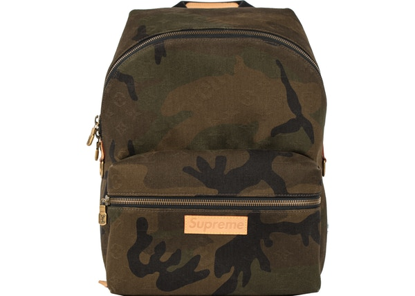 9c8dca29eea Louis Vuitton x Supreme Apollo Backpack Monogram Camo