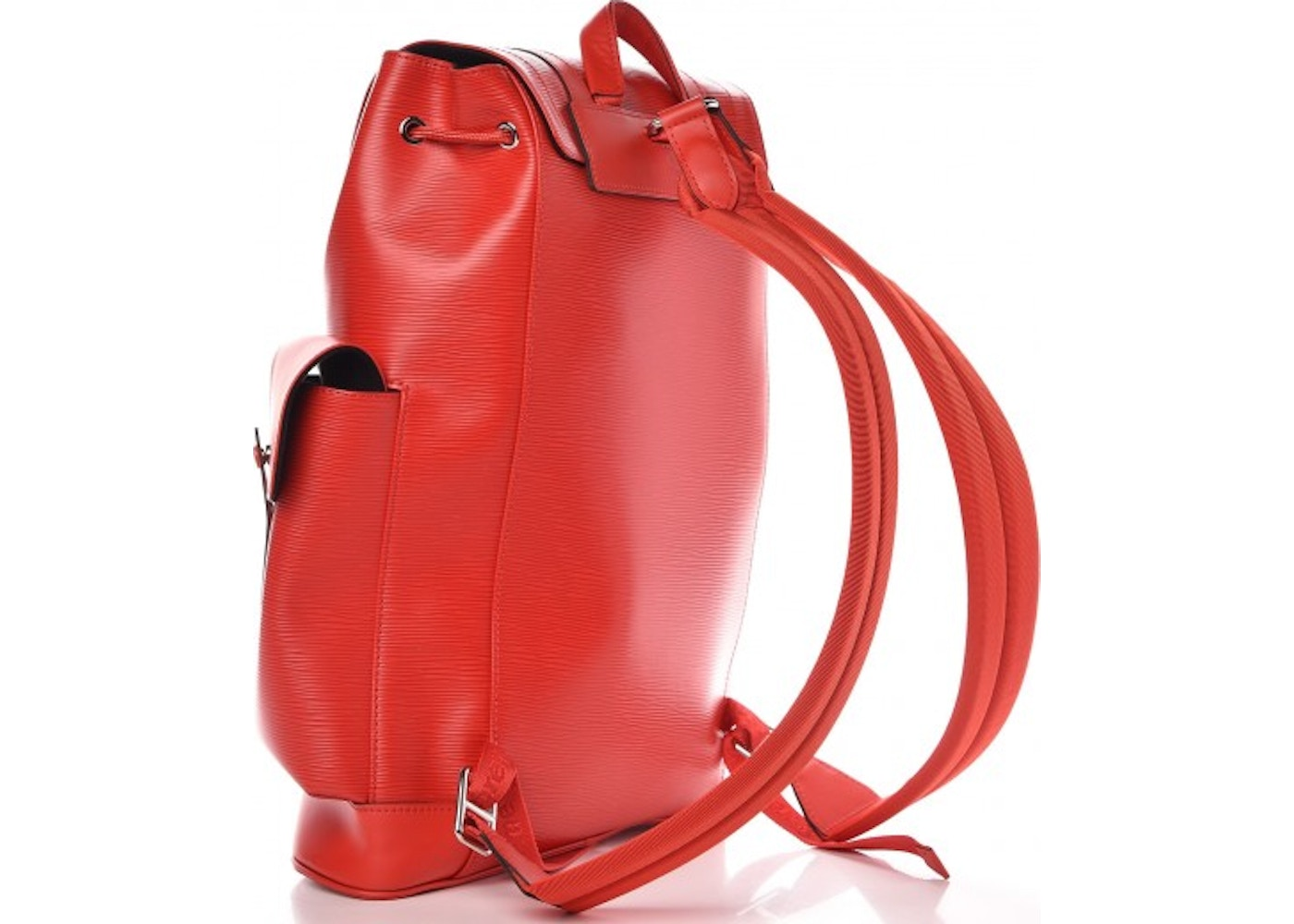 1a8c92449a409 Louis Vuitton x Supreme Christopher Backpack Epi PM Red