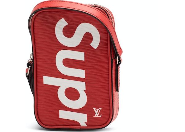 Louis Vuitton X Supreme Danube Epi Ppm Red