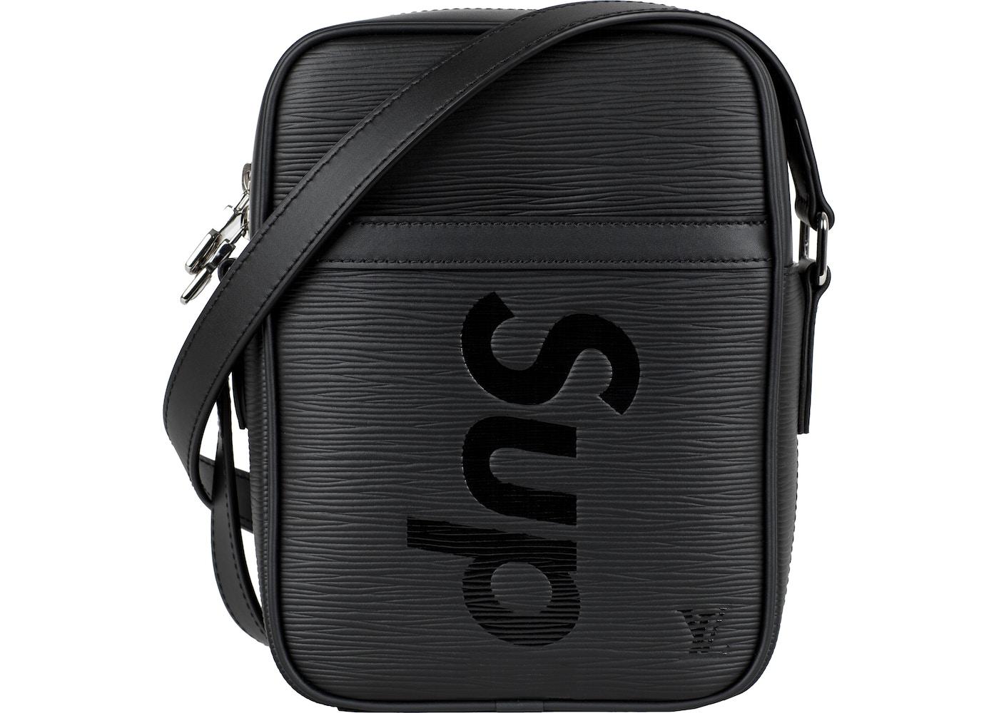f09b455f0ae Louis Vuitton x Supreme Danube Epi PM Black