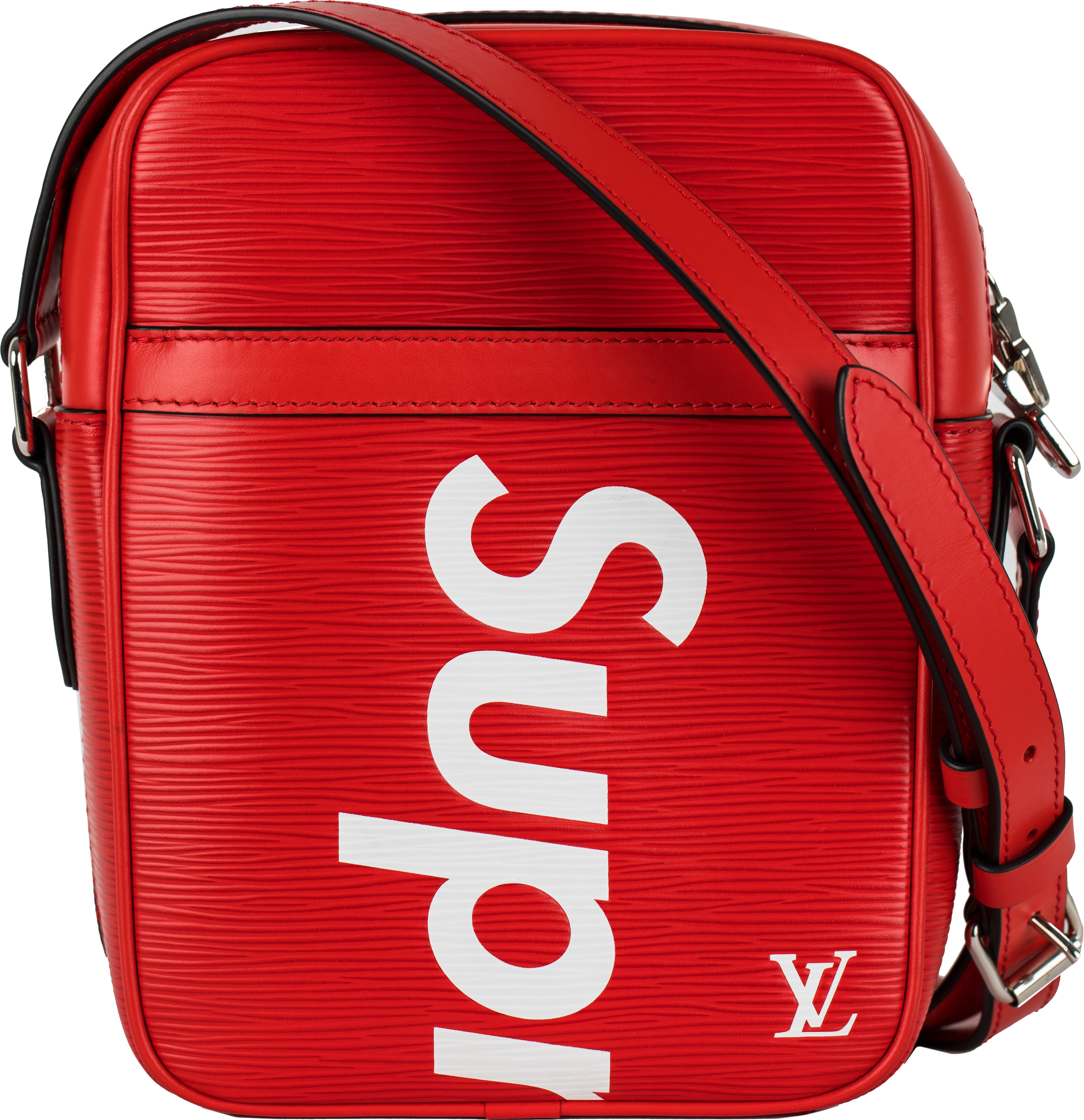 Louis Vuitton x Supreme Danube Epi PM Red