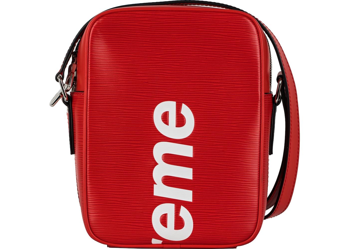 b537922d Louis Vuitton x Supreme Danube Epi PM Red