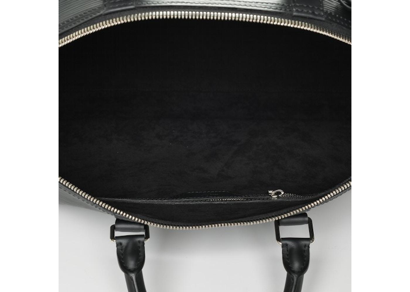bf9280ffc052 Louis Vuitton x Supreme Keepall Bandouliere Epi 55 Black