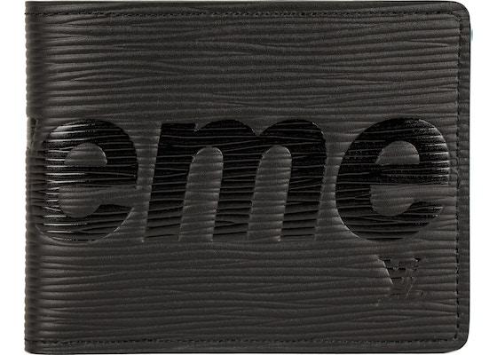 7a430cb1f67 Louis Vuitton x Supreme Porte Carte Simple Epi Black