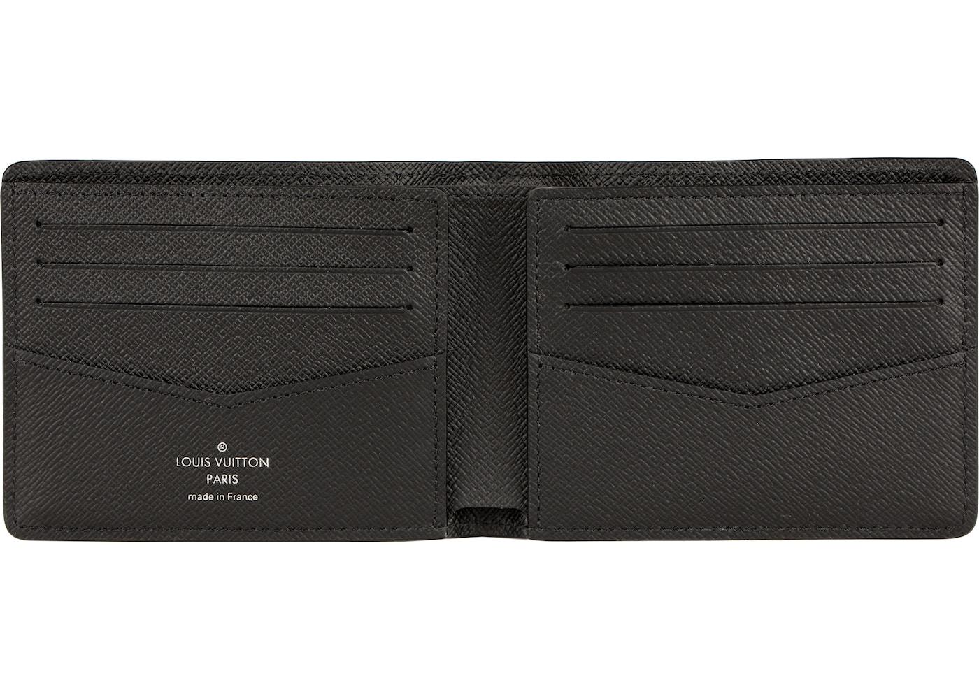 Verbazingwekkend Louis Vuitton x Supreme Slender Wallet Epi Black JT-77
