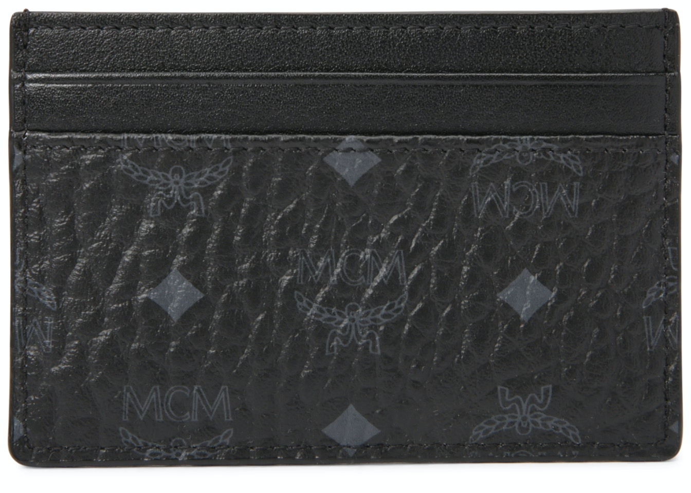 MCM Card Case Visetos Black