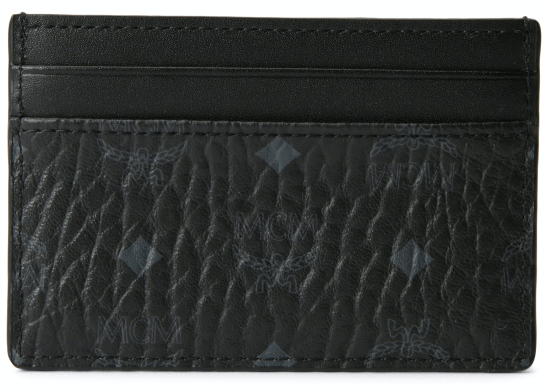 MCM Card Case Visetos Black