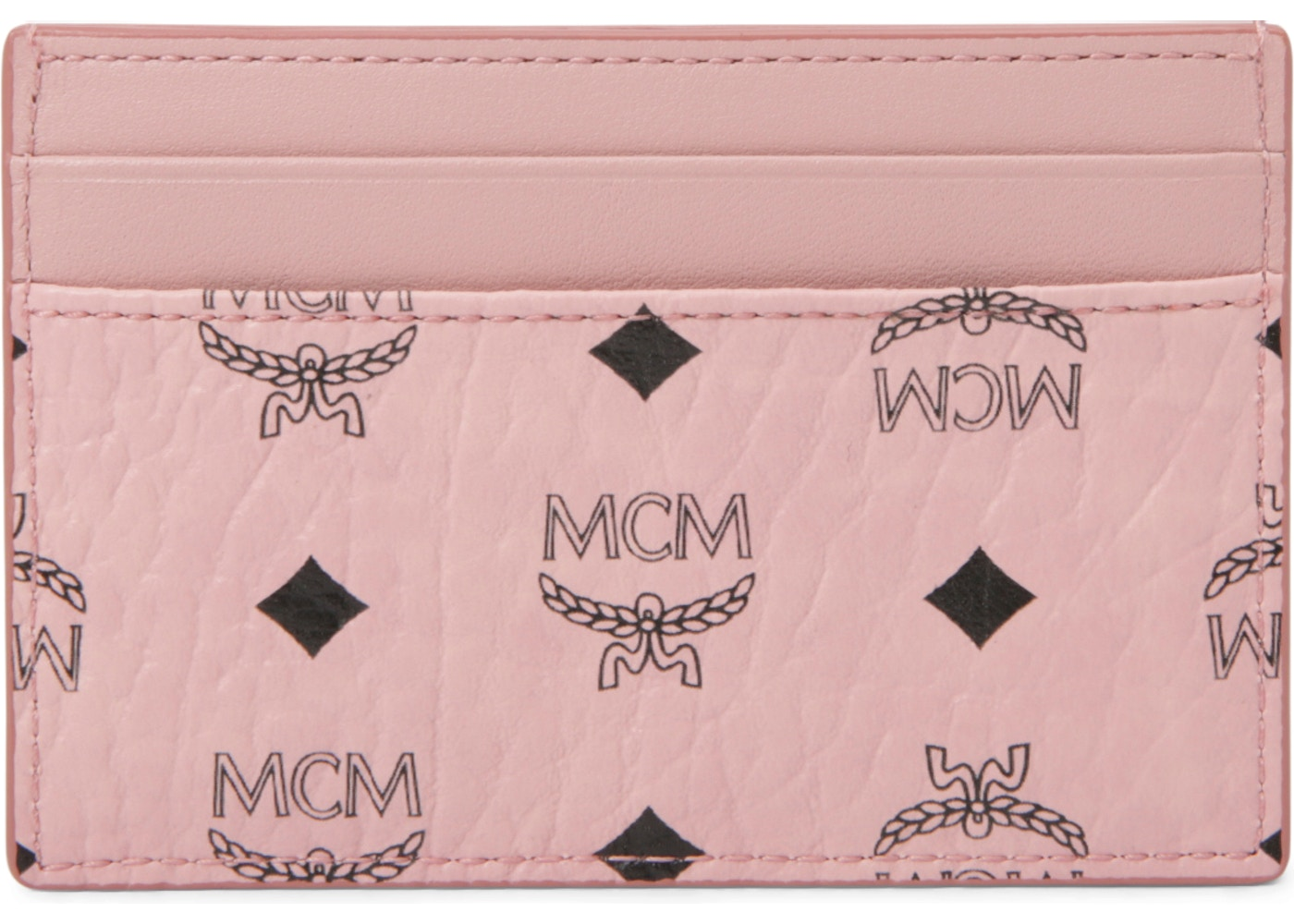online store 2c47f 421eb MCM Card Case Visetos Mini Soft Pink