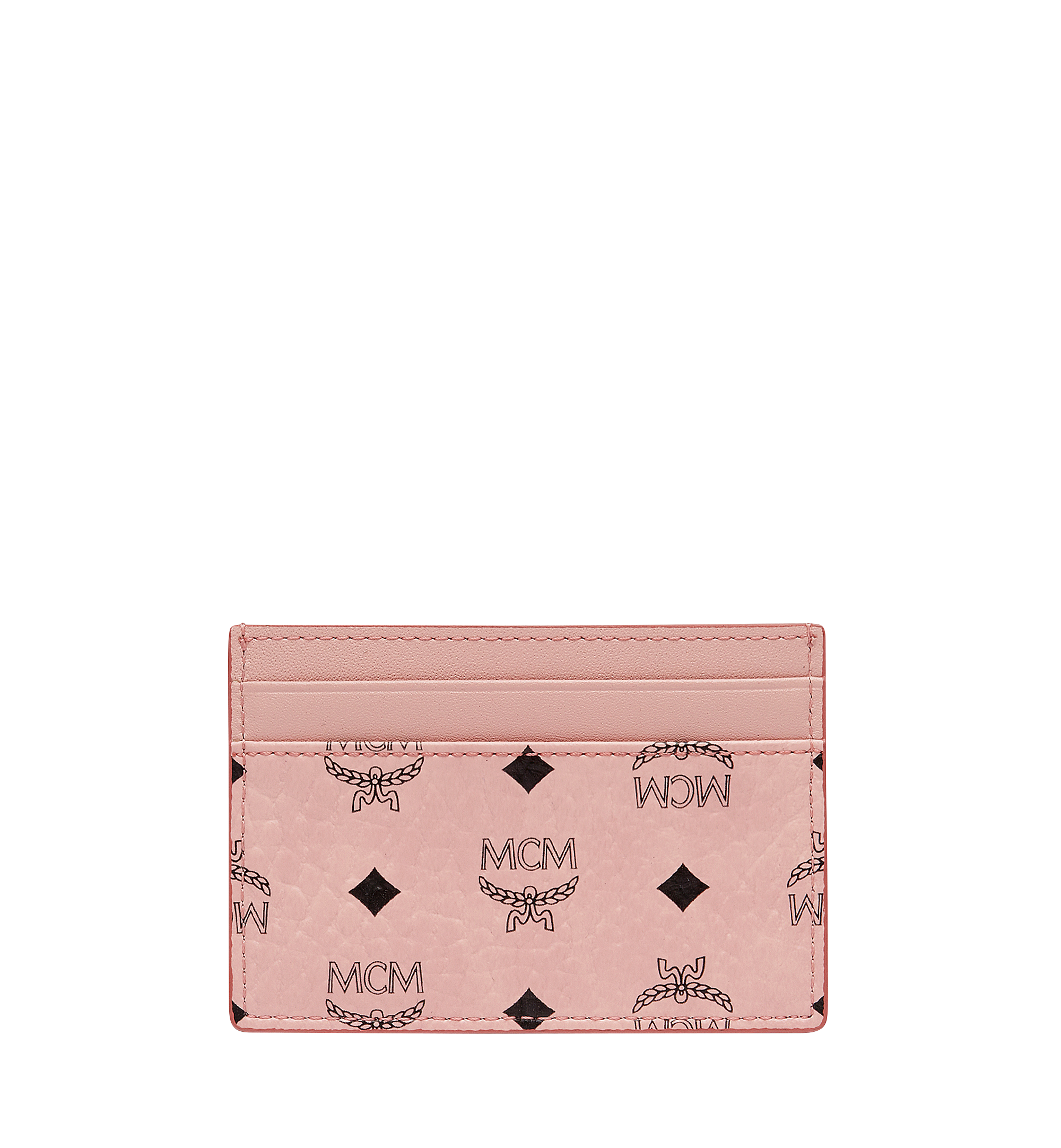 MCM Card Case Visetos Mini Soft Pink