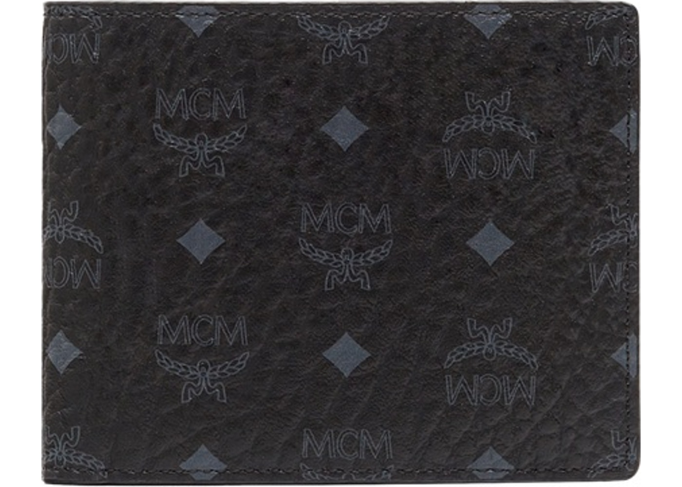 d31ca15f67bc MCM Claus Bifold Wallet Visetos Small Black. Visetos Small Black