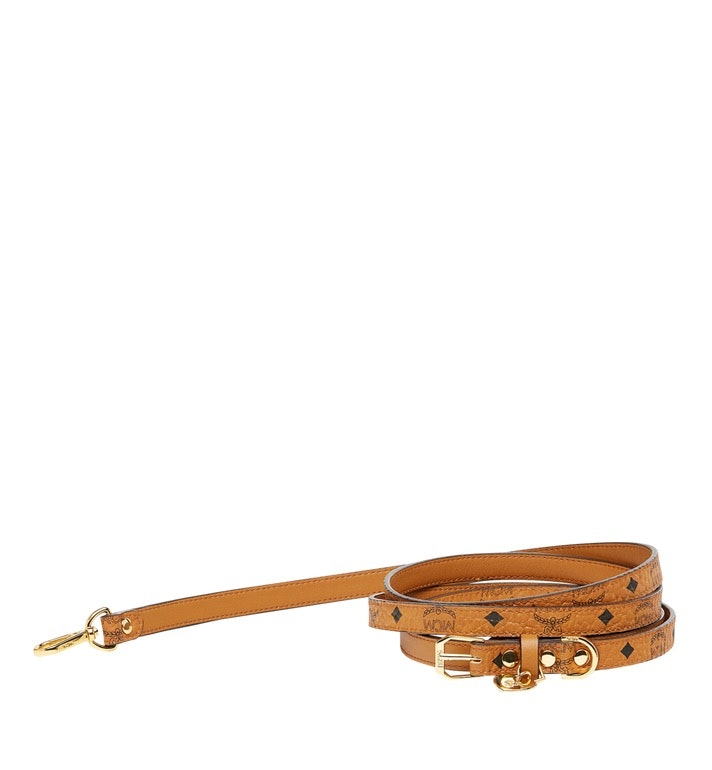 MCM Dog Leash Visetos One Size Cognac