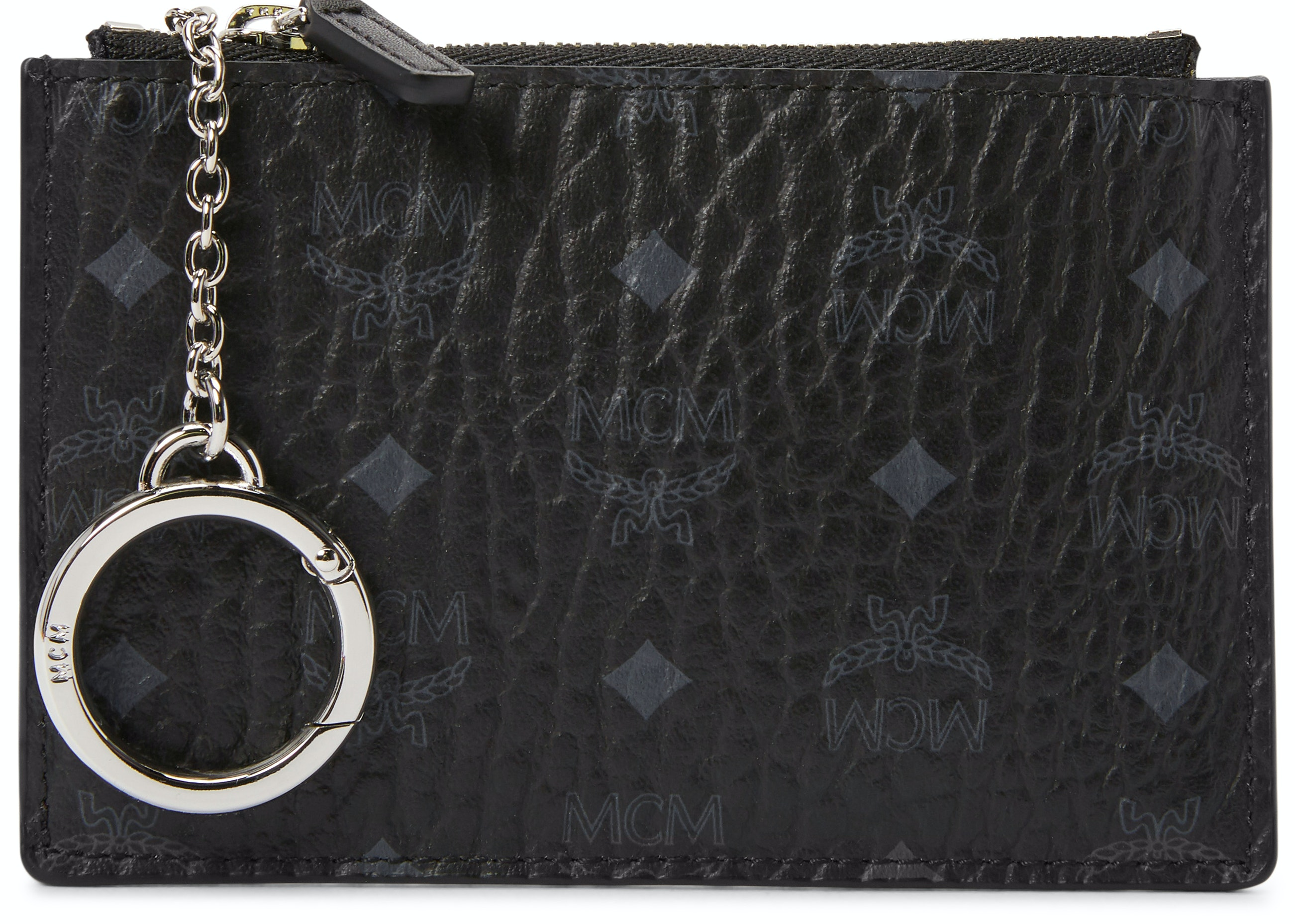 MCM Key Pouch Visetos Mini Black