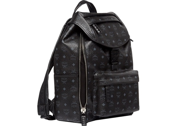 4d5ad2e5f1 MCM Killian Backpack Visetos Medium Black