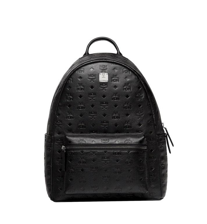 MCM Stark Backpack Visetos Medium Black