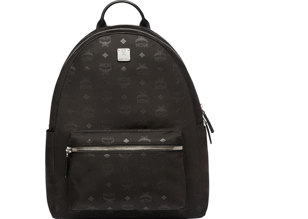 93e5a6a902d16 MCM Stark Classic Backpack Monogram Black