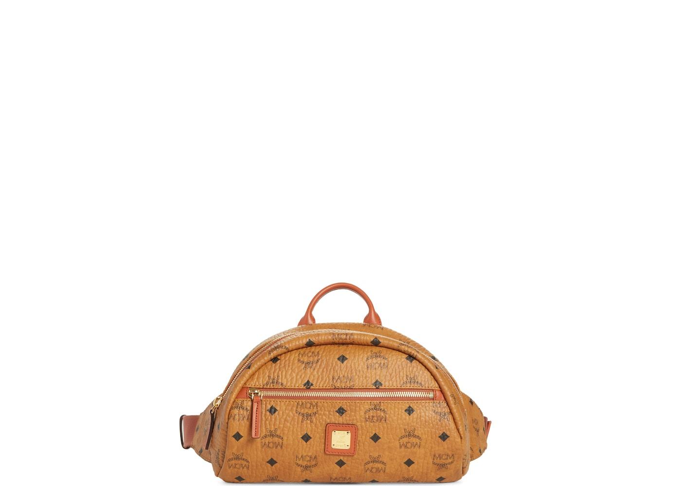 e2768ee735b MCM Vintage Belt Bag Visetos Nordstrom Exclusive Small Cognac. Visetos  Nordstrom Exclusive Small Cognac