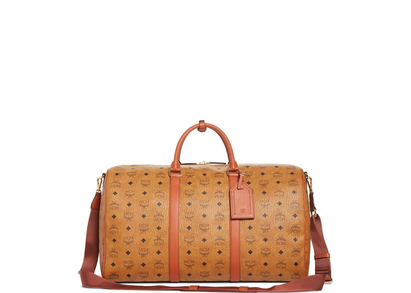 1735935d44c Sell. or Ask. View All Bids. MCM Vintage Weekend Bag Visetos Nordstrom  Exclusive Large Cognac
