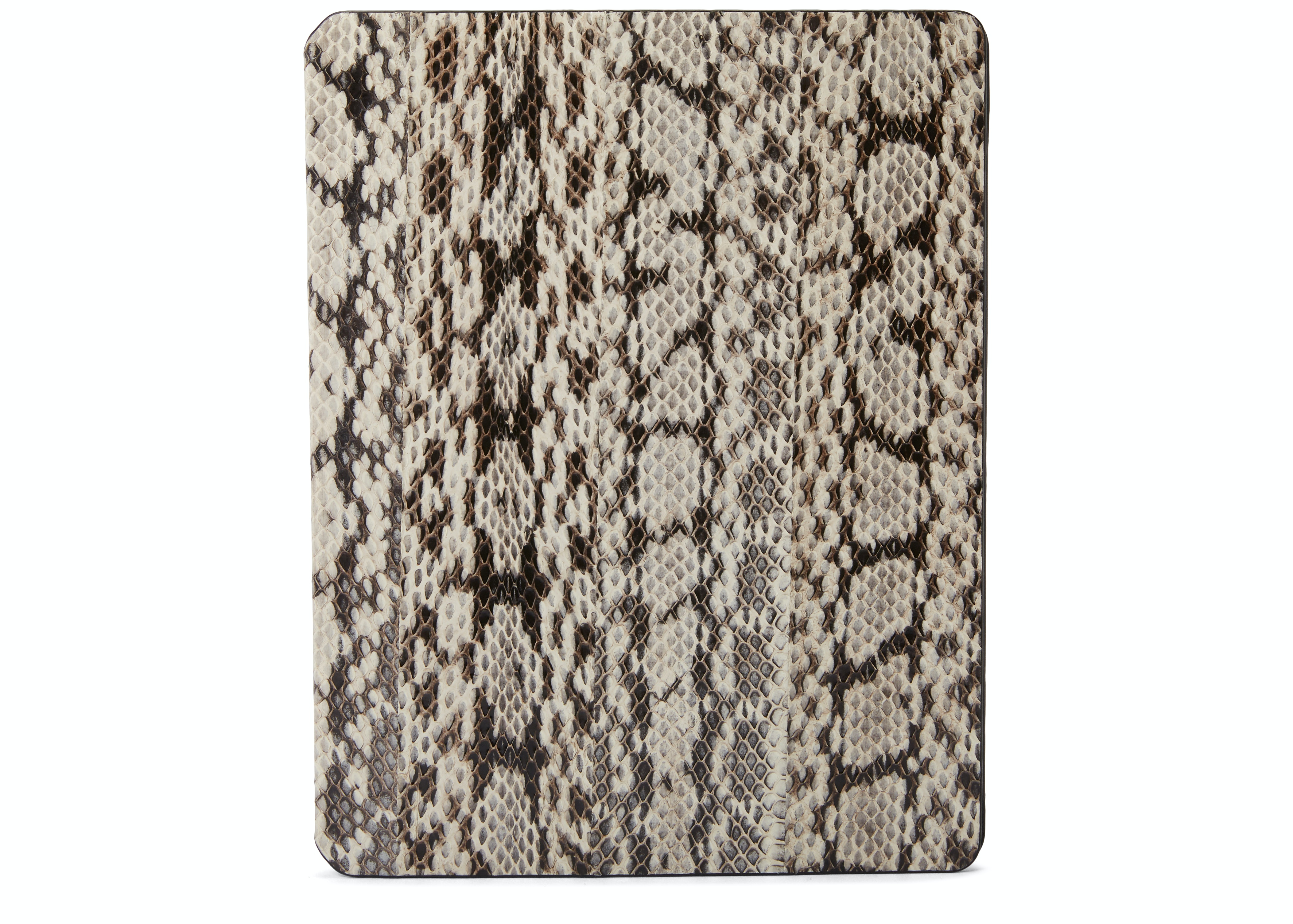 MCM iPad Case 2 Snake Print Cream Brown