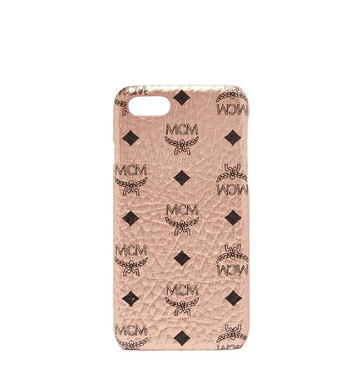 MCM iPhone Case Visetos 6S/7/8 Champagne Gold