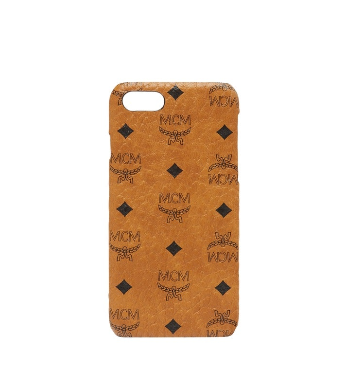 MCM iPhone Case Visetos 6S/7/8 Cognac
