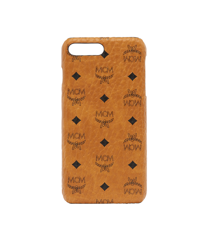 MCM iPhone Case Visetos 6S/7/8 Plus Cognac
