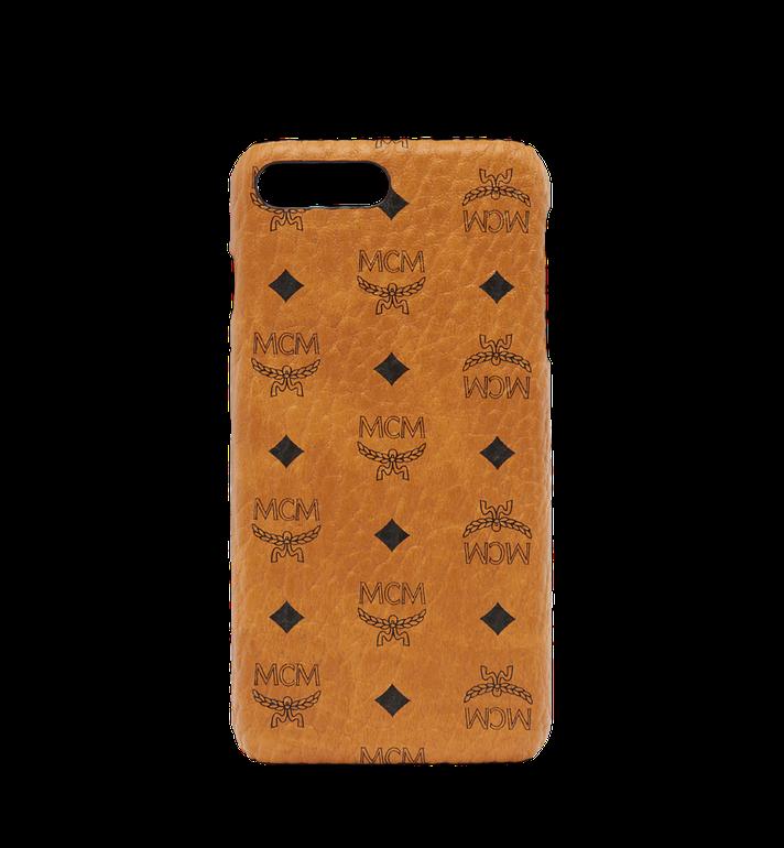 MCM iPhone Case Visetos 6S/7/8 Plus Cognac