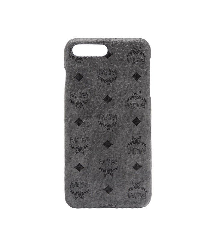 MCM iPhone Case Visetos 6S/7/8 Plus Phantom Grey