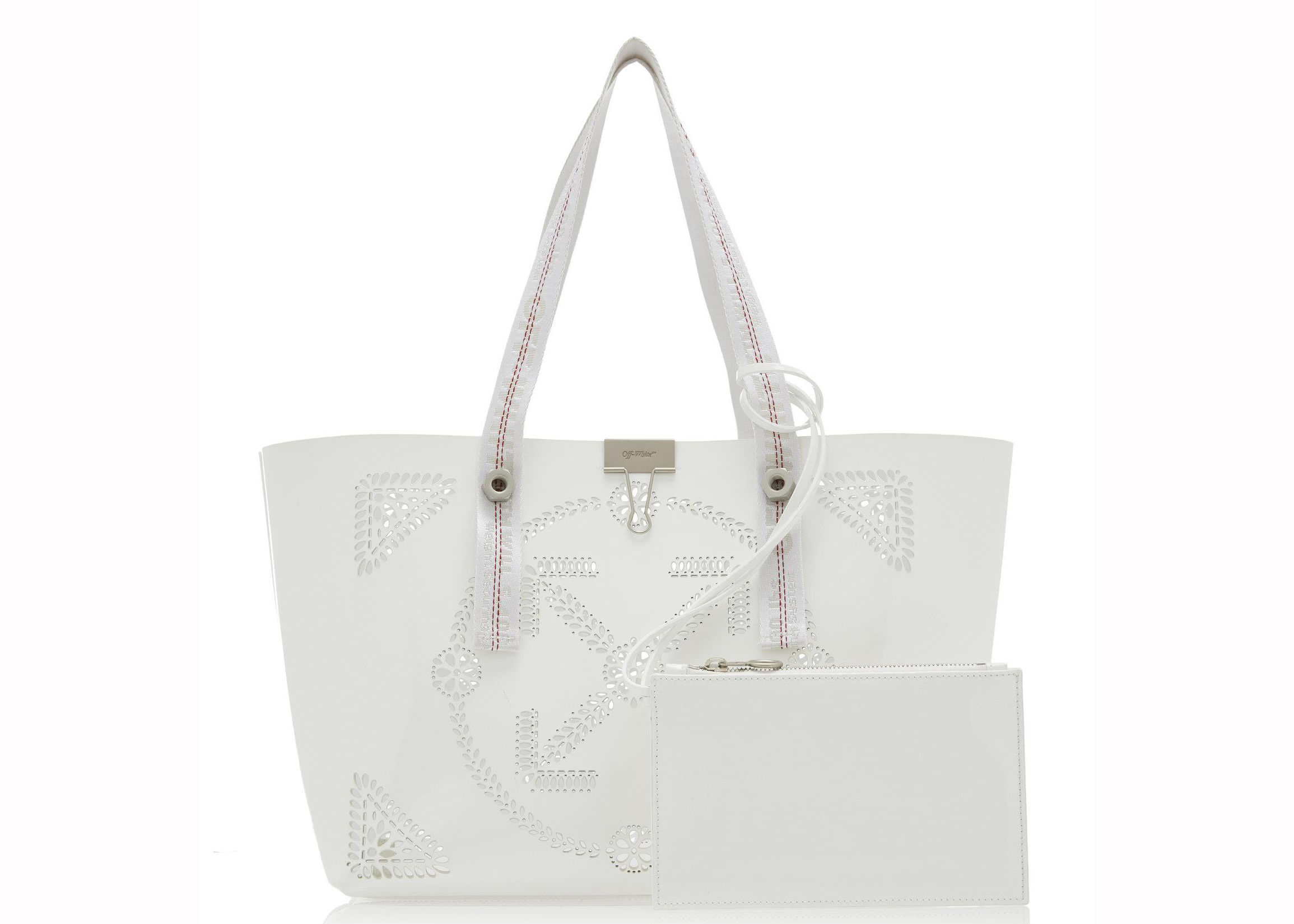Off-white Shopping Bag Macrame White