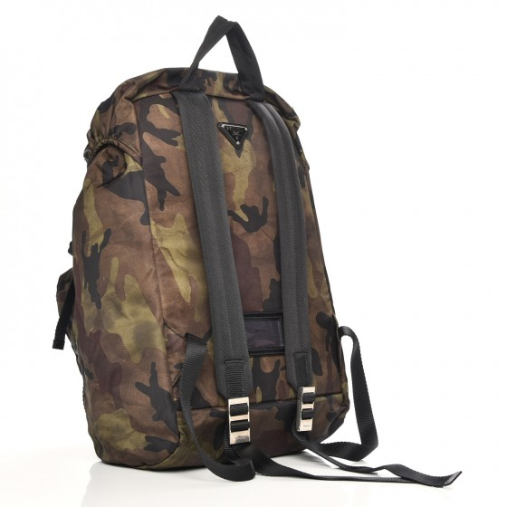4495aa72ebe5 ... authentic prada mimetico backpack tessuto camouflage green brown black  98e1d 2983a norway prada tessudo nylon ...