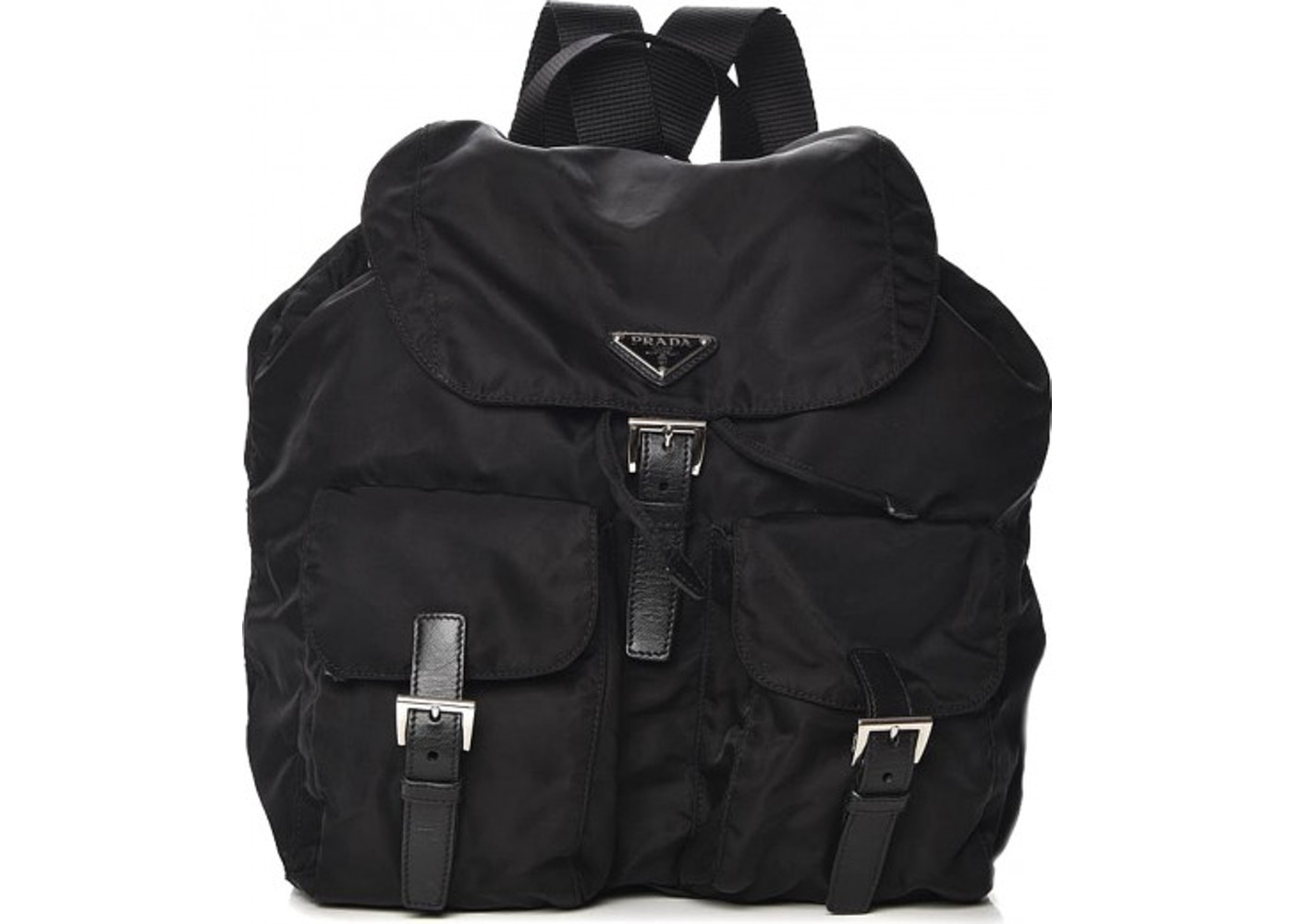 1591e3a1c004 Prada Vela Backpack Nero Black. Nero Black