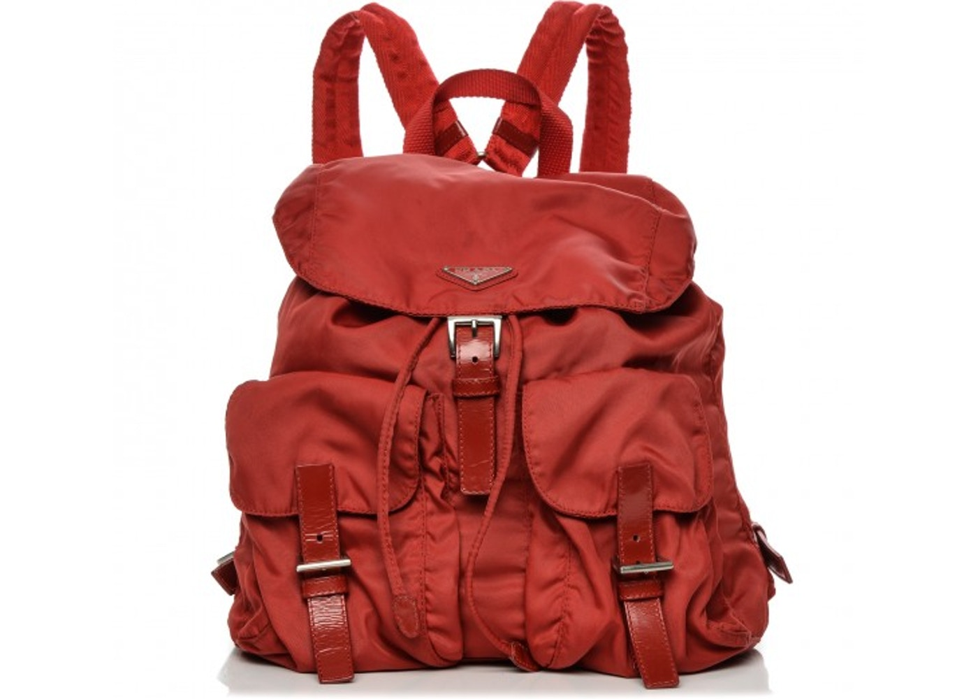 4524d838aa8e Prada Vela Backpack Small Rosso Red. Small Rosso Red