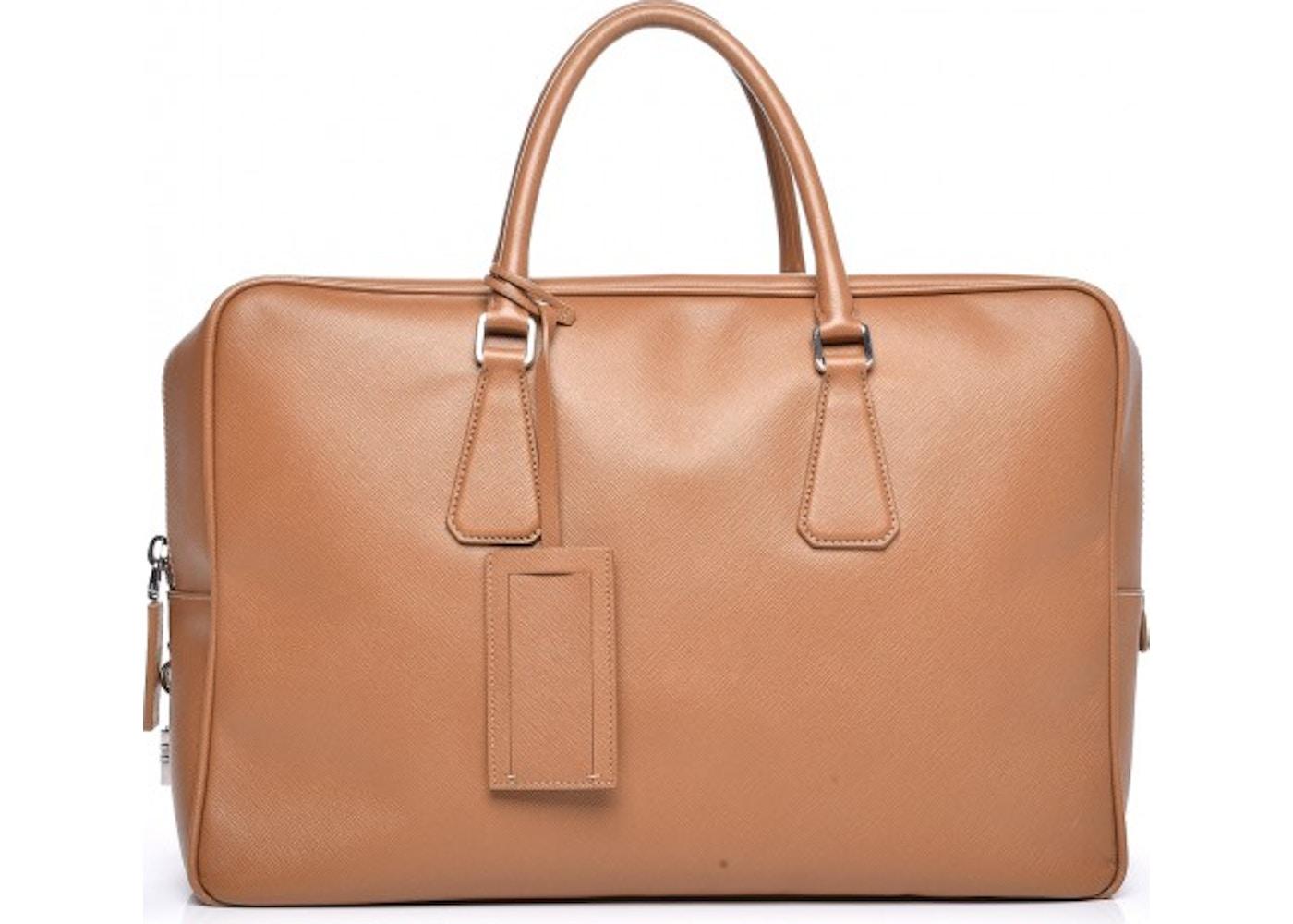 Prada Travel Briefcase Saffiano Beige. Saffiano Beige d14124c81ae81