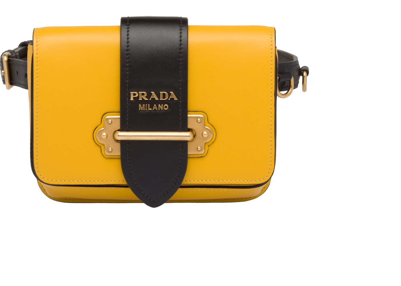 7242c1c93ce5 Sell. or Ask. Size --. View All Bids. Prada Cahier Belt Bag Yellow