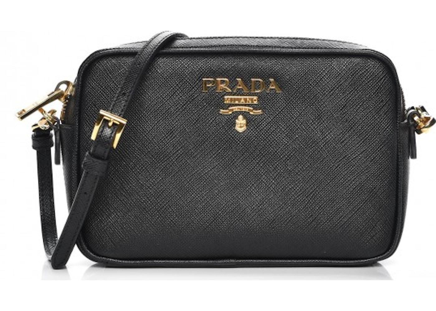 ef4e0be0e7 Prada Camera Bag Crossbody Saffiano Mini Nero. Saffiano Mini Nero