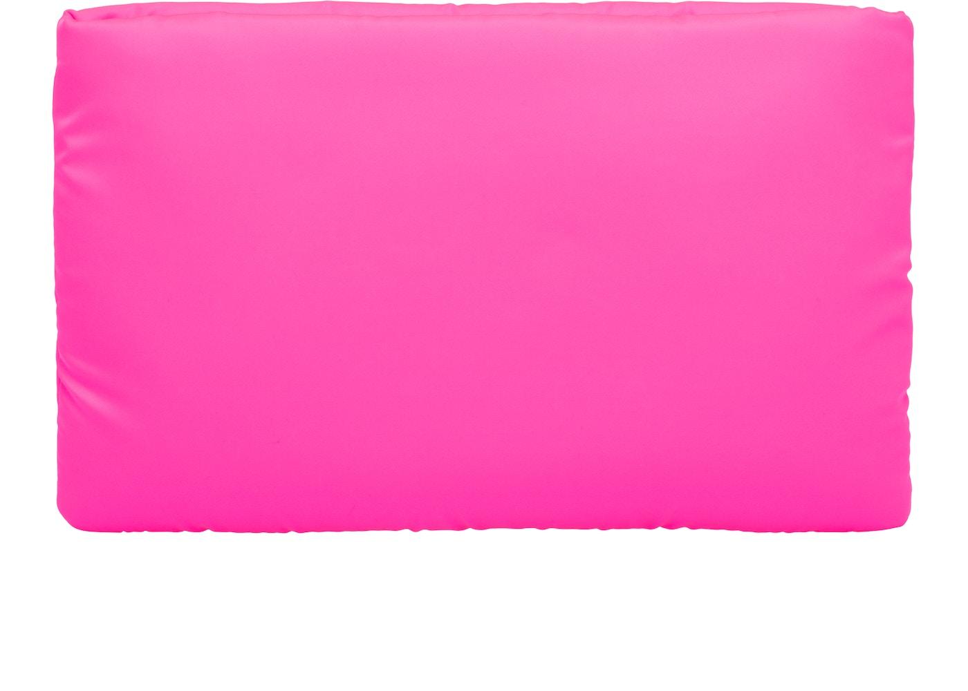 bbb20b12a932 Prada Clutch Padded Nylon Medium Pink