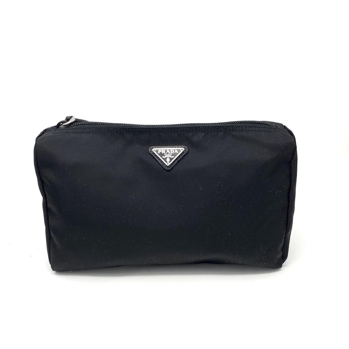 Prada Cosmetic Case Nylon Black