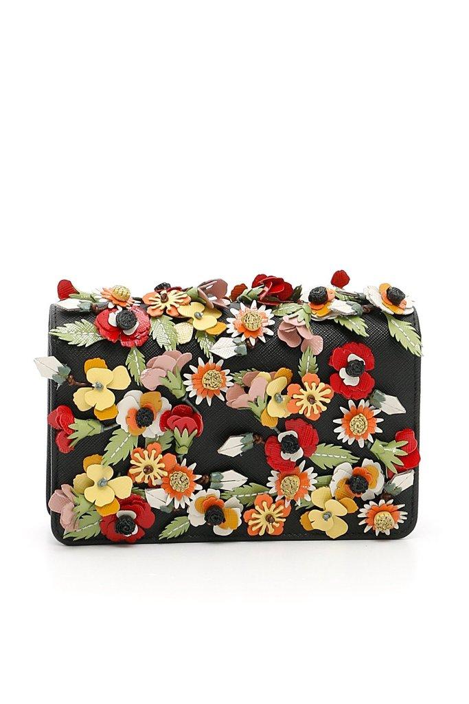Prada Crossbody Bag Garden Floral Multicolored