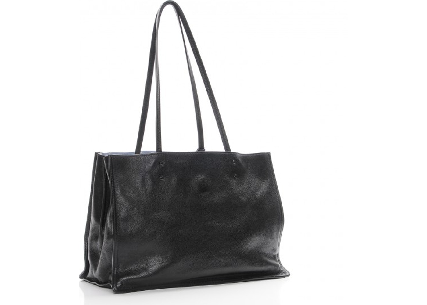 27c10e3ce8e5 Prada Etiquette Shopping Tote Glace Nero/Astrale