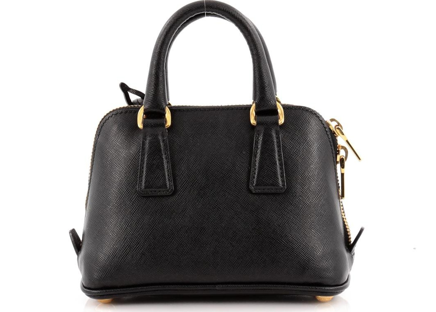 e95ce165d7e4 Sell. or Ask. View All Bids. Prada Promenade Handle Bag Saffiano Mini  Classic Nero Black