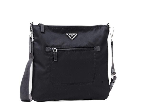421b36396b4c Prada Messenger Bag Tessuto Black