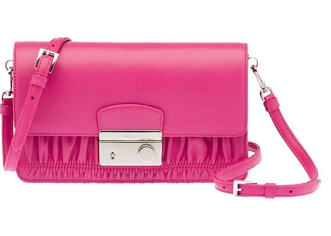 60e8d048b62b Sell. or Ask. View All Bids. Prada Nappa Gaufre Clutch Pink