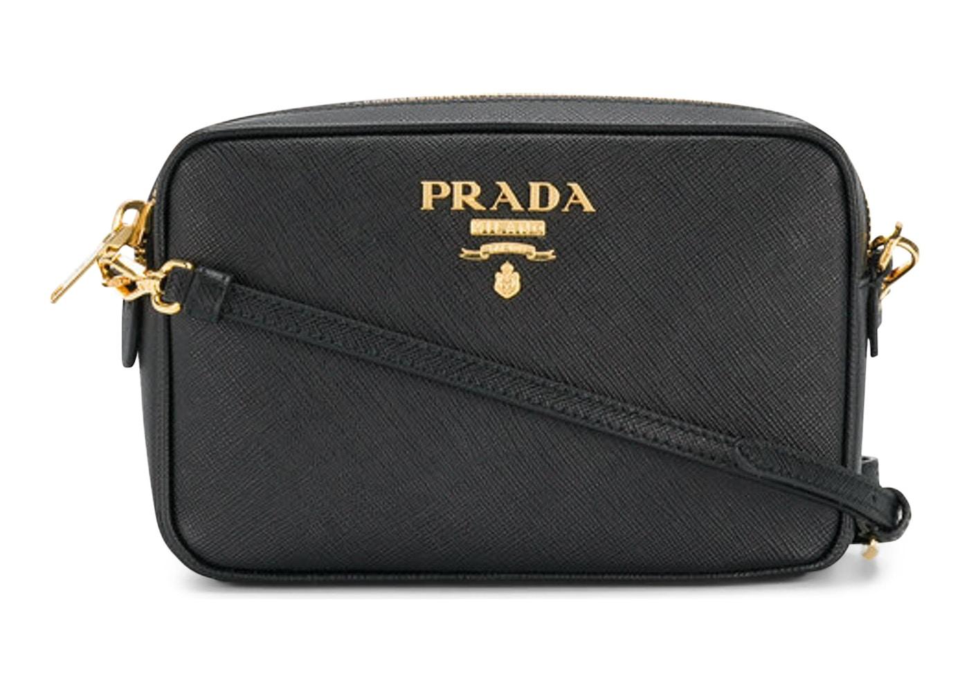 08a1985907b5a Prada Saffiano Crossbody Black. Black