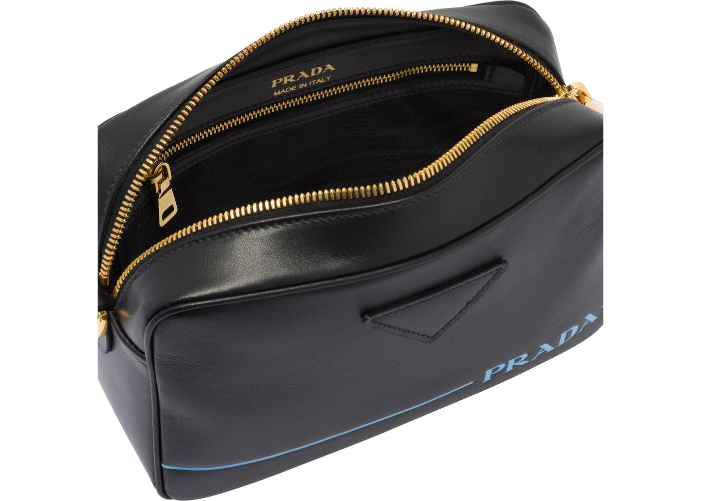 860b6bc8b1e65c Prada Shoulder Bag Mirage Leather Black