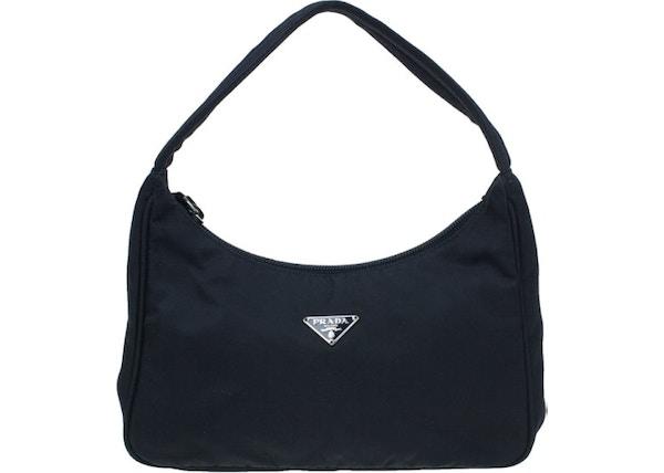 36709a467447ac Prada Shoulder Bag Nylon Tessuto Mini Black