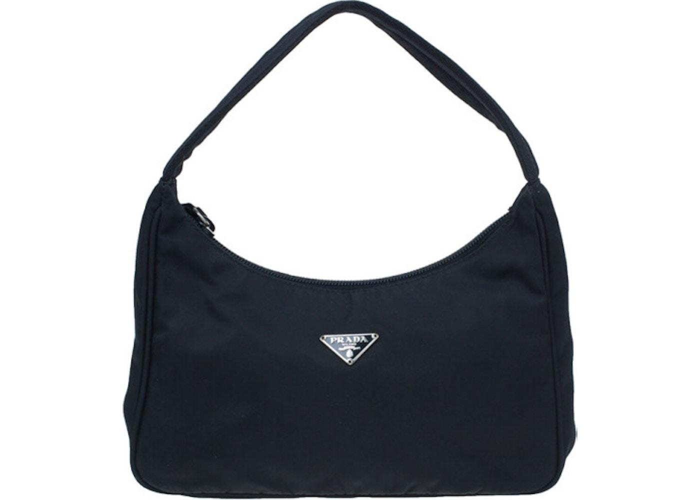 477bf4e8174f Prada Shoulder Bag Nylon Tessuto Mini Black. Nylon Tessuto Mini Black