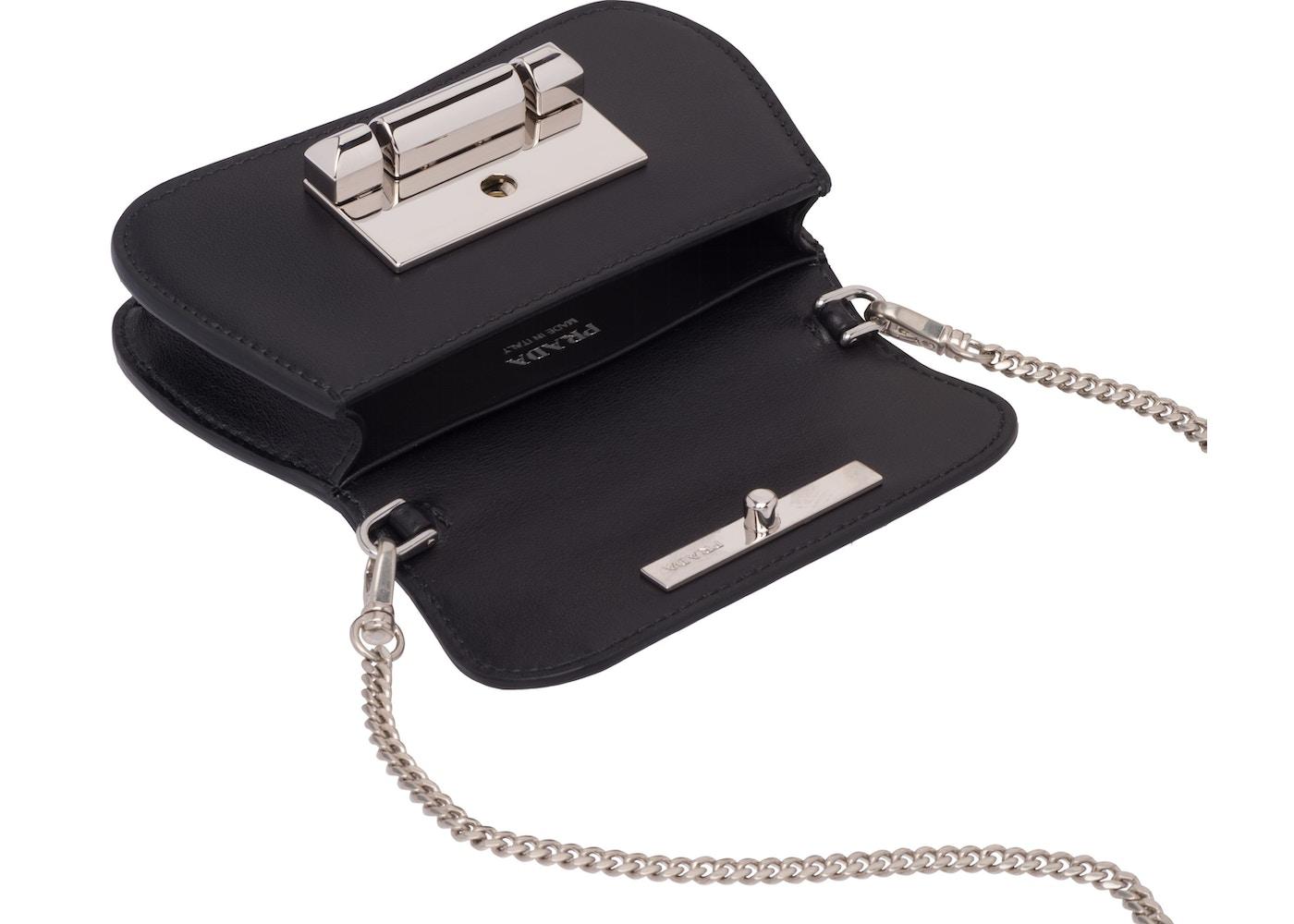 8582852e53 Prada Sybille Mini Black