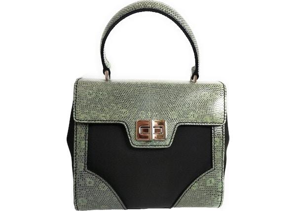 89e17d57299c Prada Tessuto Lucerto Handbag Green Multicolor
